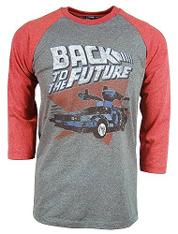 Back To The Future baseball Shirt