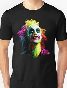 Beetlejuice Ghost Face T-shirt Unisex