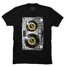 Cassette Tape T-shirt for Men