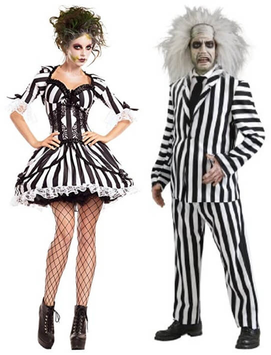 Beetlejuice Costumes And Tee Shirts At 80sfashion Clothing