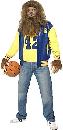 Adults 1980s Teen Wolf Scott Howard Costume