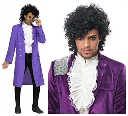 Adult Costume Accessory Princely Purple Jacket