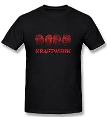 Kraftwerk German Synthpop T-shirt