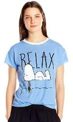Snoopy Relax T-shirt for Women