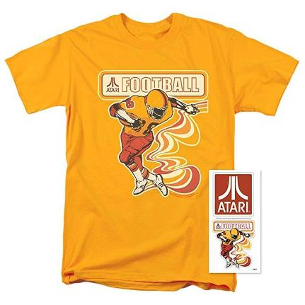 Atari Football T-shirt for Adults - S to 5XL