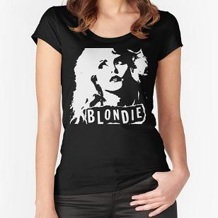 Blondie Debbie Harry Face T-shirt for Women