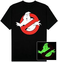 Ghostbusters Glow in the Dark T Shirt
