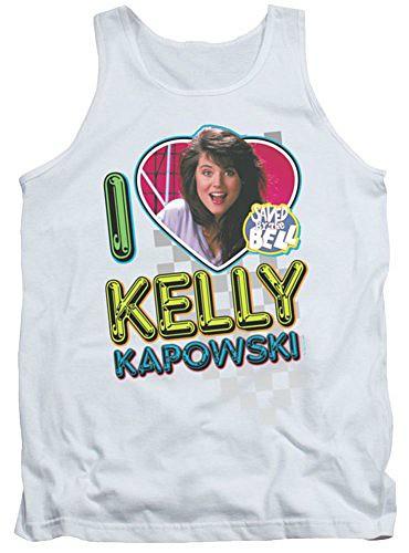 Saved By The Bell Bayside High Kellp Kapowski Photo Adult T Shirt