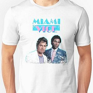 Miami Vice Crockett & Tubbs T Shirt