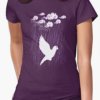 Prince Crying Doves T-shirt