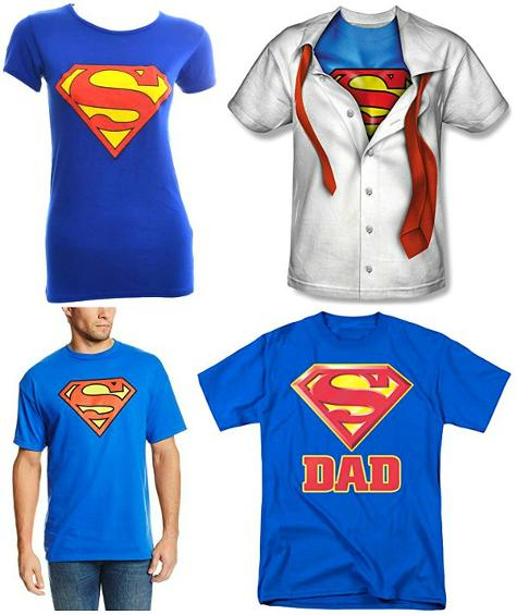 Superman T-shirts for Adults at 80sfashion.clothing