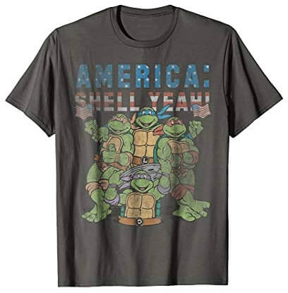 Mutated in 1984 Men/'s T-Shirt S-XXL Sizes Officially Licensed TMNT