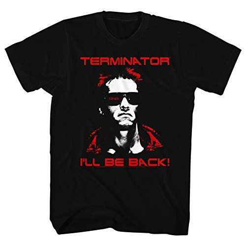 Terminator I'll Be Back Arnie T-shirt for Men